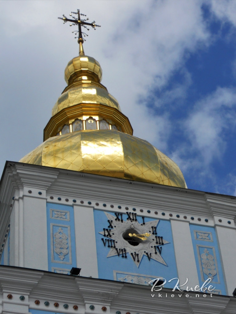 Часы Михайловской колокольни