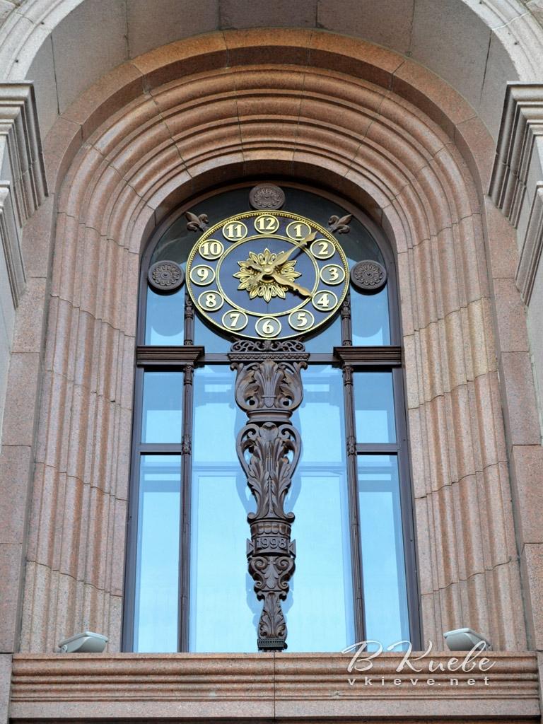 Часы на здании киевской мэрии