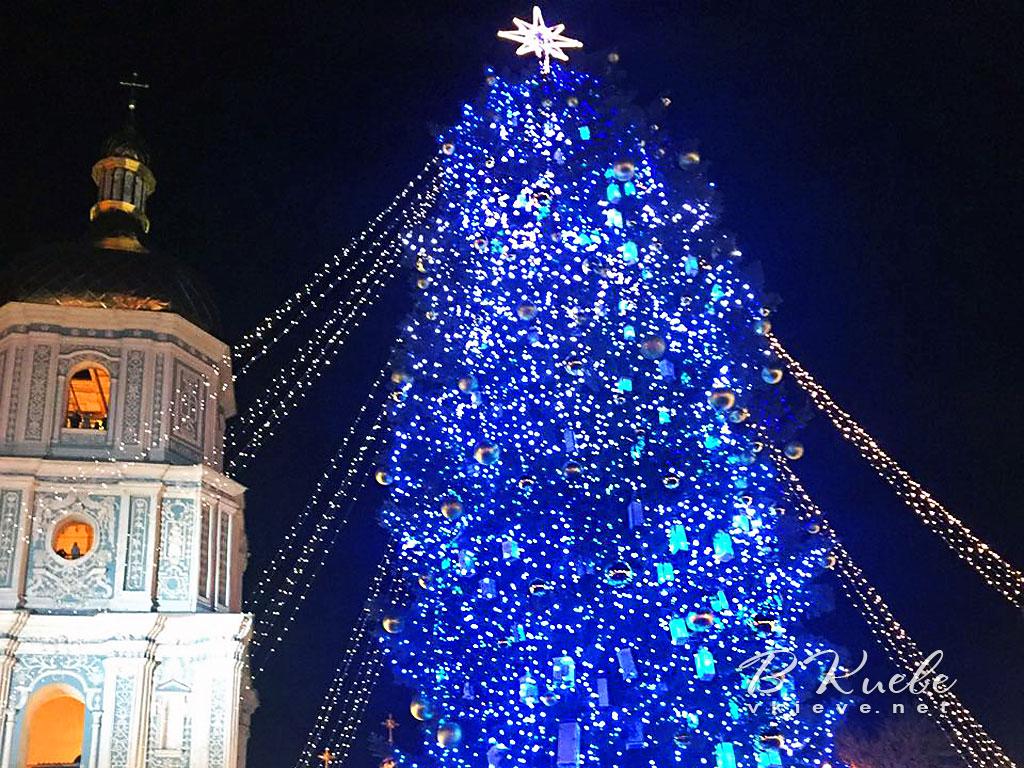 Главная елка 2018 в Киеве