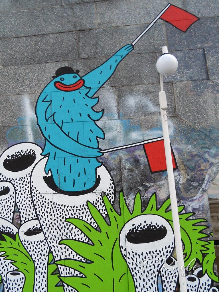 Граффити Арт-причала