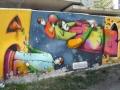 Граффити на улице Княжий Затон