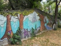 Граффити «Лес» на Гоголевской