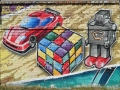 Граффити ТЦ «Дарынок»