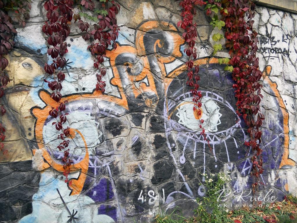 Граффити в Протасовом Яру