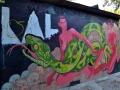 Граффити во дворе на Большой Житомирской