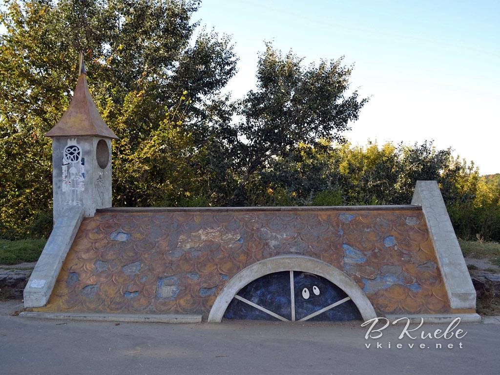 Крыша на Пейзажной аллее