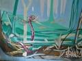 Настенная роспись арт-бара «Подвал»