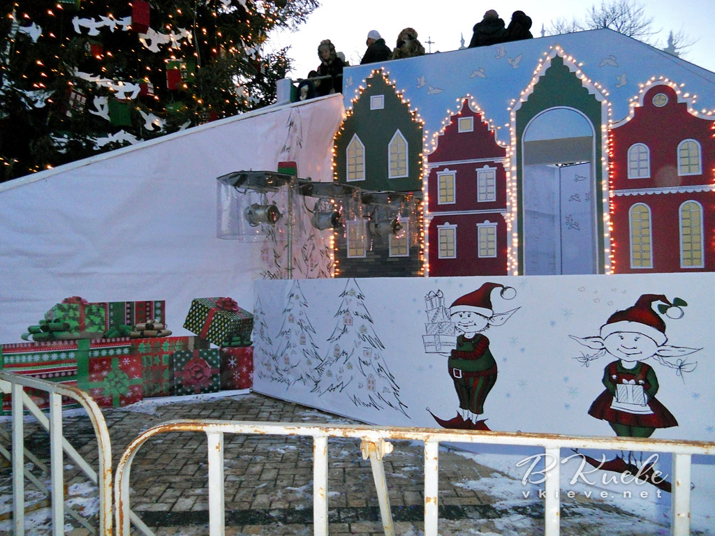 Новогодняя елка 2015 в Киеве