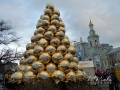 Новогодняя елка 2016 в Киеве. Контрактовая площадь