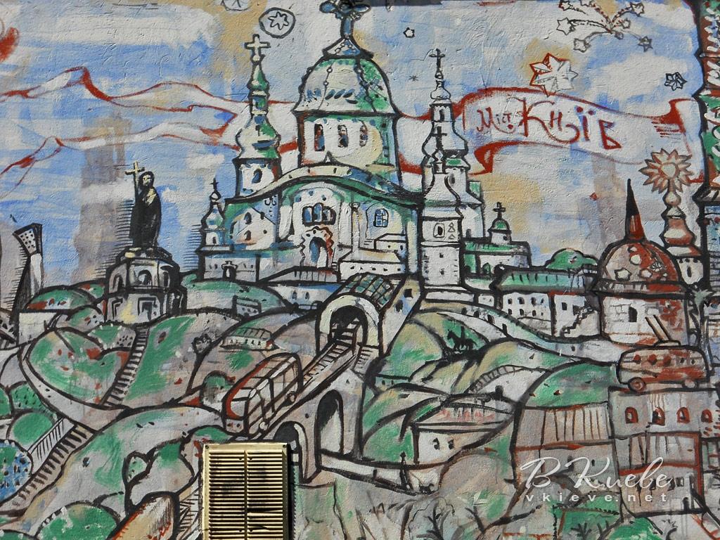 Панорама Киева на Тимошенко