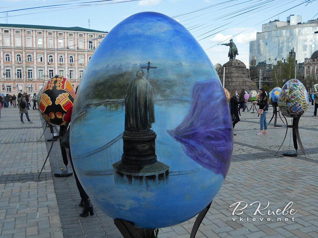 Пасха 2017. Фестиваль писанок на Софийской и Михайловской площадях