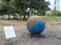 Парковая скульптура «Сияние Земли» в парке «Позняки»