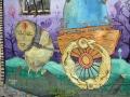 Стрит-арт «Злочинні накази» группы «ВакциНация»
