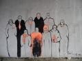 Стрит-арт на станции Левый берег