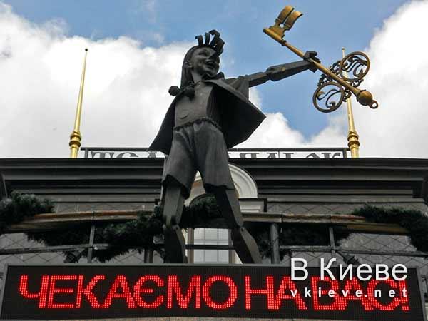 Буратино. Кукольный театр в Киеве