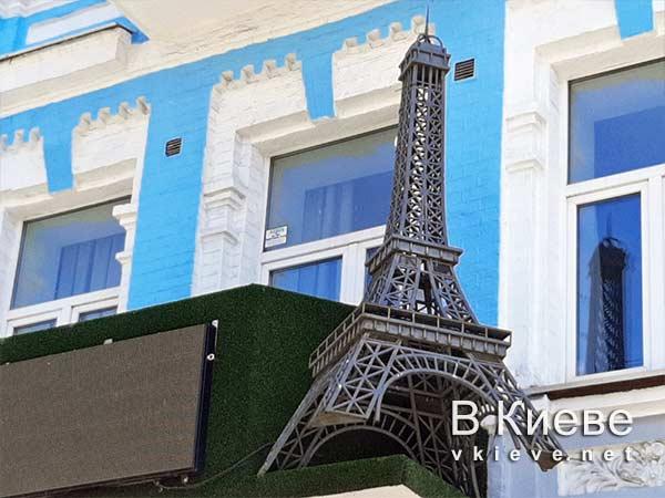 Эйфелева башня на киевском балконе