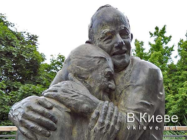 История любви. Луиджи и Мокрина. Памятник влюбленным