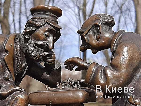 Киевские шахматы. Проект «Шукай»