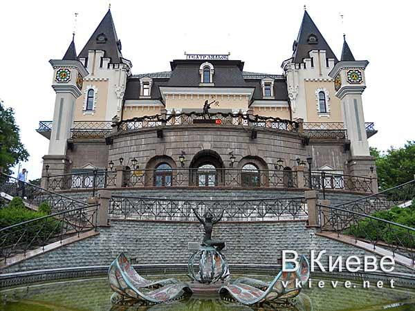 Кукольный театр в Киеве. Фонтан Дюймовочка