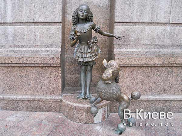 Мальвина и Артемон. Кукольный театр в Киеве
