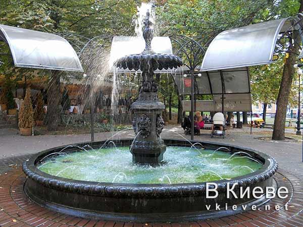 Малый фонтан Термена в Полицейском скверике