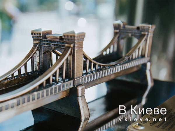 Цепной мост проект Шукай