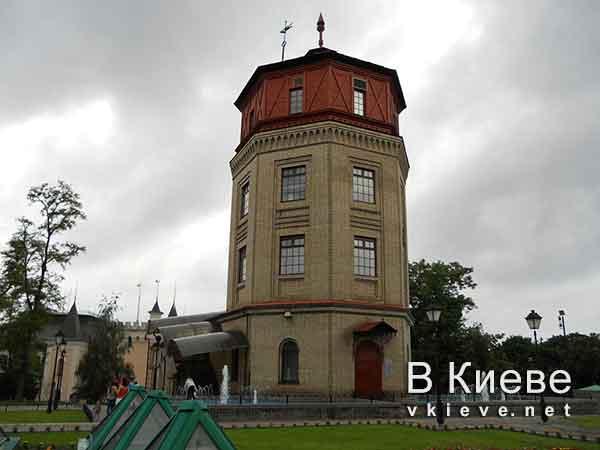 Музей воды в Киеве. Первая водонапорная башня