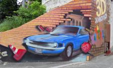 3D-граффити ТРЦ «Мармелад»