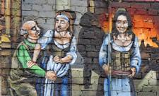 3D-граффити на Большой Житомирской