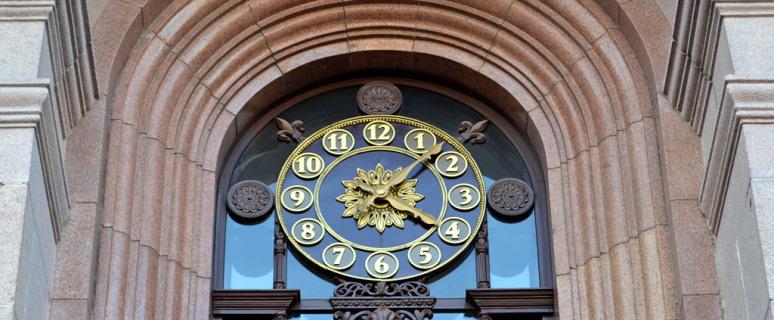 Часы-на-здании-киевской-мэрии