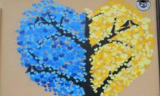 Дерево-сердце на Подоле