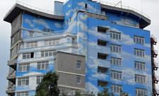 Дом с облаками на Артема