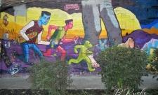 Граффити на Большой Житомирской