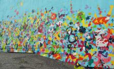 Граффити-панно в КПИ