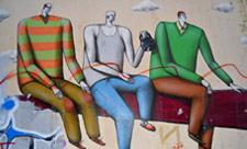 Стрит-арт «Равновесие»