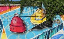 Граффити ТЦ Дарынок