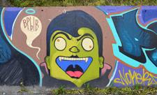Граффити у Зеленого театра