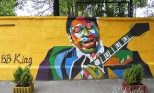 Король блюза Би Би Кинг. Граффити
