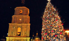 Новогодняя елка 2016 в Киеве
