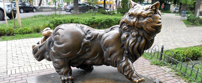 Памятник-коту-Пантелеймону