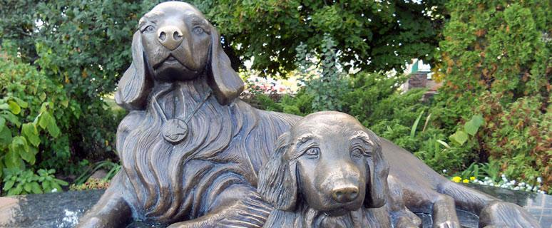 Памятник собачьей верности
