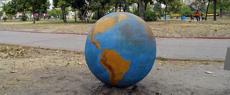 «Сияние Земли» в парке «Позняки»