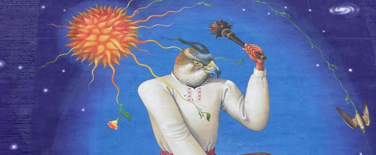 Граффити-Украинский-Святой-Георгий
