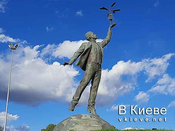 Памятник Сикорскому в Жулянах