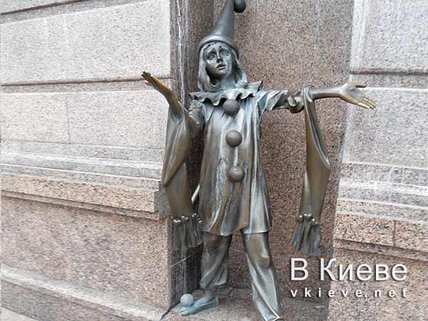 Пьеро. Кукольный театр в Киеве